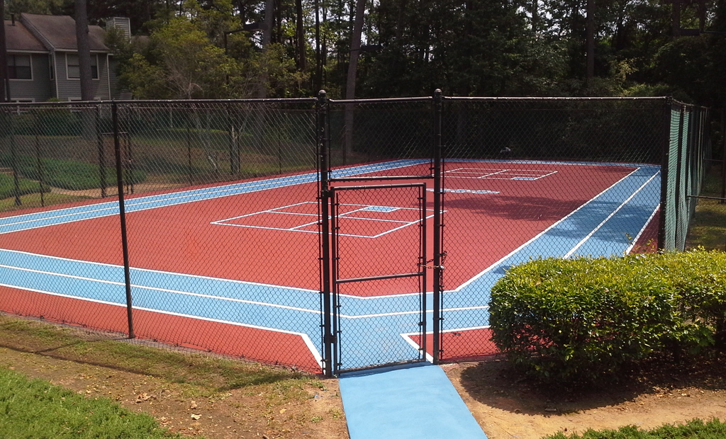 Woodland Trace Apartment Activity Court